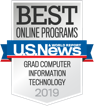 Best online programs U.S. News and World Report - Grad Computer Information Technology 2019